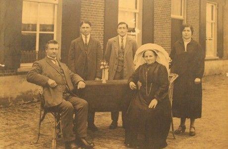 Familie Gerardus Goossens-van de Westelaken