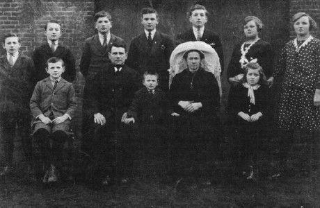 Familie Pijnenburg-van Grinsven en Pijnenburg-van der Linden